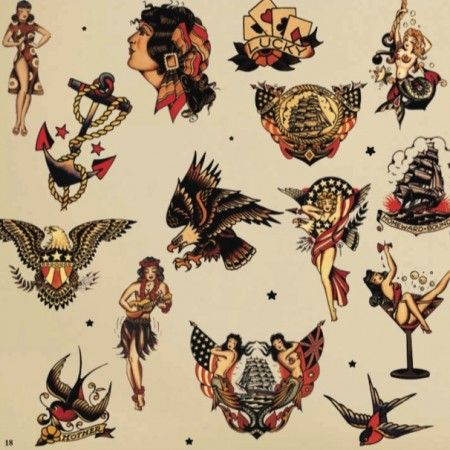 85 best images about sailor jerry on pinterest singapore for Tattoo shops in norman