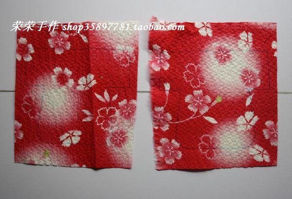 7 , due opposti disegni giacca tovaglia sono stati disegnati da linee di contorno