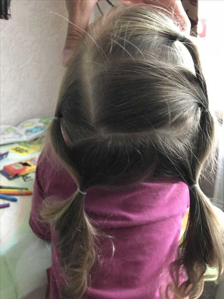 Быстро и легко. Прическа за 5 минут. Идеи для волос. Детская прическа. Уход за детскими волосами. Малыши.