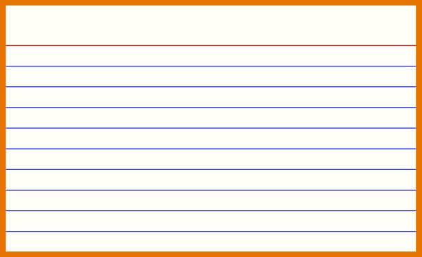 16 Creative 3x5 Note Card Template For Word Now For 3x5 Note For 3x5 Blank Index Card Template Di 2020 Blog Blogging Belajar
