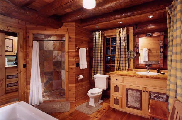 Luxury Cabin Bathrooms