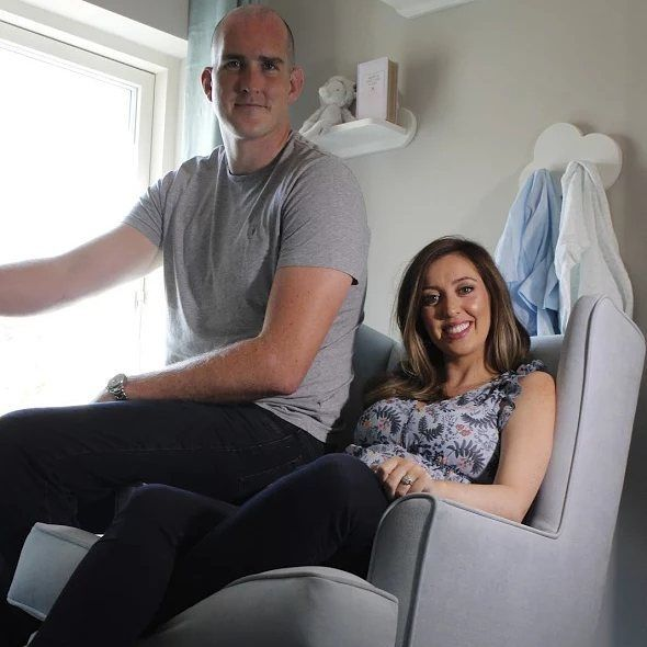 """Congratulations to Mary Scott and Devin Toner on their new little arrival Max💙. We are at the Ideal…"""""""