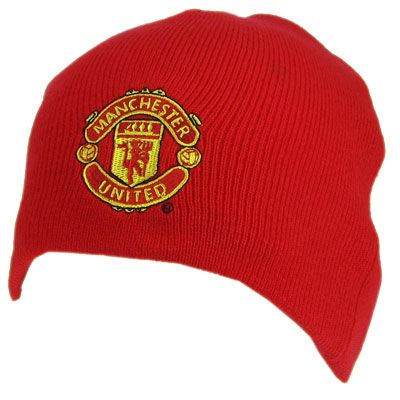 MANCHESTER UNITED FC Knitted Hat. One Size Official Licensed Man United Gift. FREE DELIVERY ON ALL OF OUR GIFTS