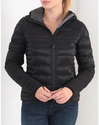 Canada Goose Black Brookvale Hooded Jacket