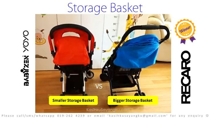 Storage Basket Comparison Winner: Recaro Easylife again smile emoticon Convince Recaro Easylife is much much better than BabyZen Yoyo and tak boleh tahan want to get one? Can order at http://www.kasihkusayangku.com/index.php?l=product_detail&p=6330 Stay tuned, we got another 9 points to prove to you how Recaro Easylife is a better choice compare to BabyZen Yoyo based on our R&D team 3 weeks intensive studies