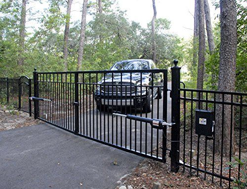 Mighty Mule Automatic Gate Opener for Heavy Duty Dual Swing Gates for 18 Feet Long or 850 Pounds per Leaf (FM502) - Hardware Products Store