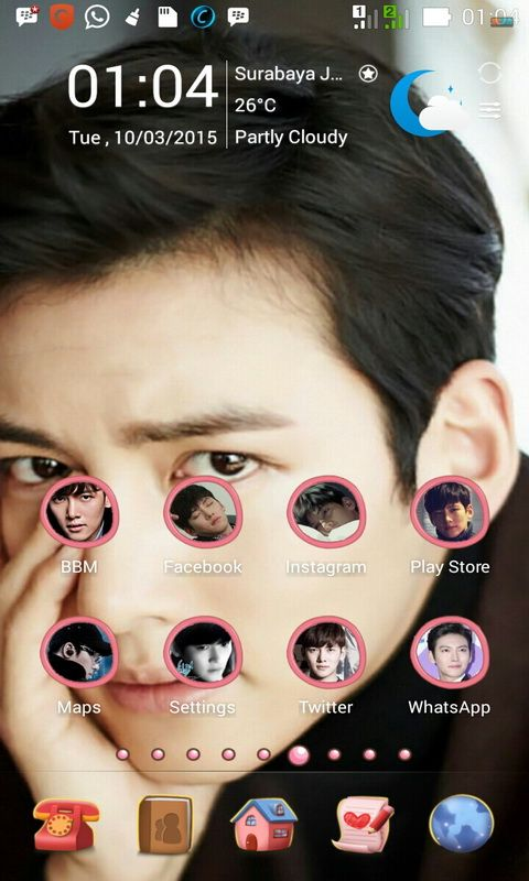 MasCrayon World's: JI CHANG WOOK Theme for Android