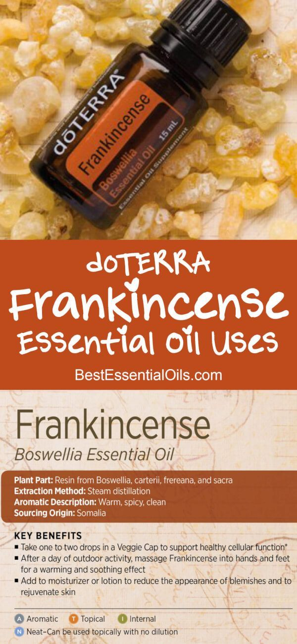 doTERRA Frankincense Essential Oil Uses