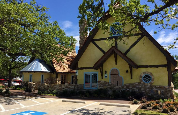 Looking for great coffee in a fun atmostphere? Check out Kimzey's Coffee in Argyle, TX! | http://www.foreverdfw.com/blog/kimzeys-fairy-tale-cottage-coffee-shop-comes-to-argyle.html | #coffee #texas #food #local #restaurants #foodie #localeats #dallas #fortworth