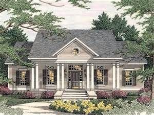 Center Hall Colonial House Plans - VAline
