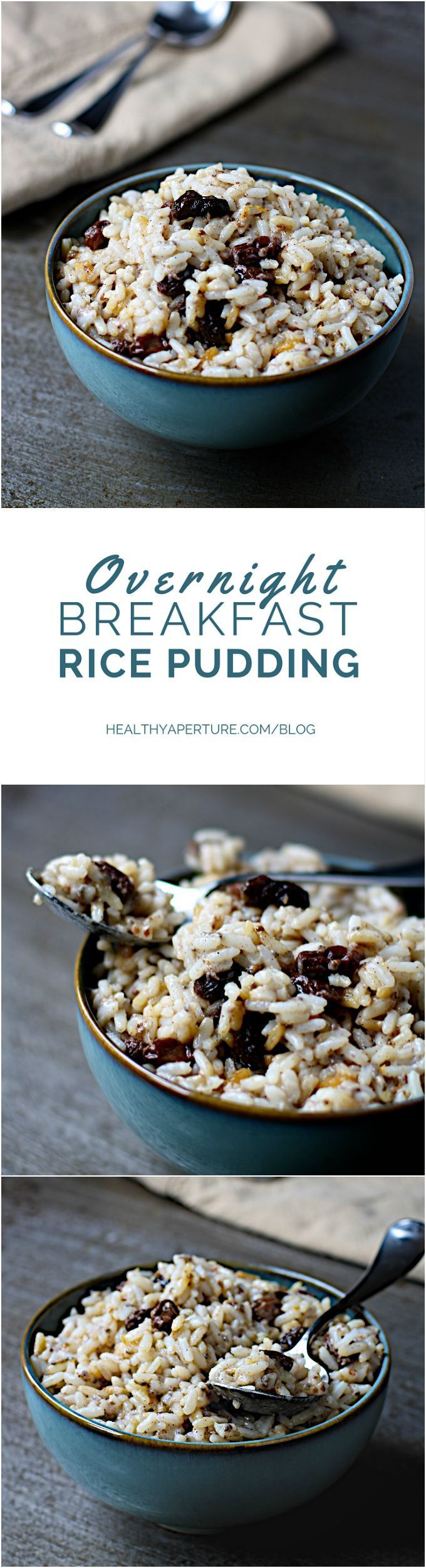 A healthy twist on rice pudding, this dish combines cooked white rice, flax and chia for a nourishing new breakfast option (+ recap of sponsored trip to see how rice is grown)