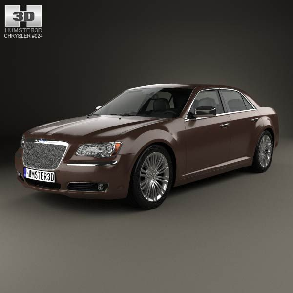 Chrysler 300 LX2 C Executive Series 2012 3d Model From