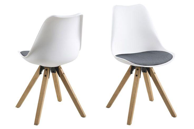 Stuhl Weiss/ Eiche 2er-Set Actona Amid Weiß Kunststoff Modern Jetzt bestellen unter: https://moebel.ladendirekt.de/kueche-und-esszimmer/stuehle-und-hocker/esszimmerstuehle/?uid=e78c6a29-270d-50ad-8f66-ebbeb5500099&utm_source=pinterest&utm_medium=pin&utm_campaign=boards #kueche #2erset #esszimmerstuehle #esszimmer #eiche #hocker #stuehle