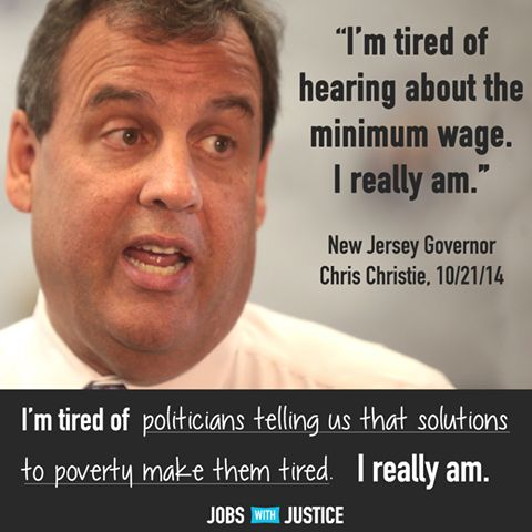 Christie is an obnoxious, rich-pandering asshole. And anyone who votes for him is too.  - http://holesinthefoam.us/christieistired/