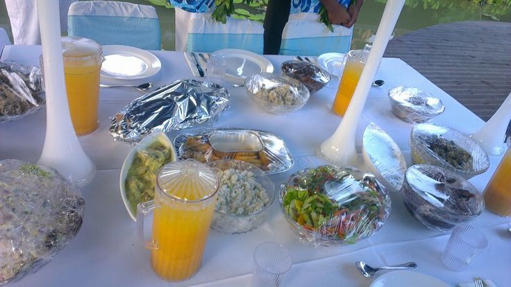 #CookIslands Kai!!! Cousin's Wedding Reception.. .. food was fabulously great ♥♥♥♥♥ 2013