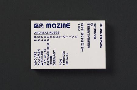 Mazine — Stahl R