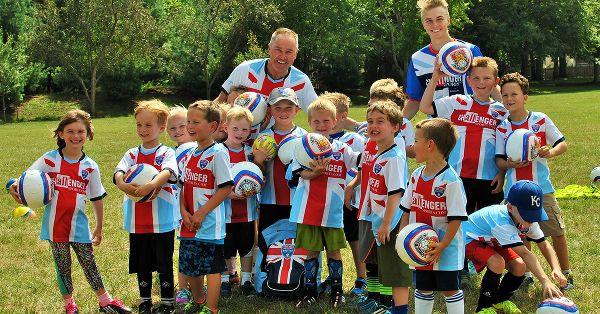 British Soccer Camp Freebie-FREE SOCCER JERSEY, SOCCER BALL,T-SHIRT