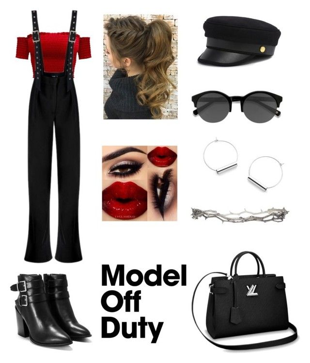 The Authority by elenialex on Polyvore featuring Nasty Gal, Pearls Before Swine, Henri Bendel and EyeBuyDirect.com