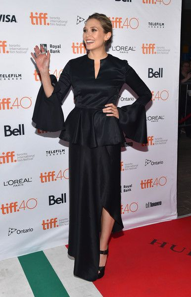 Elizabeth Olsen Photos - 2015 Toronto International Film Festival - 'I Saw The Light' Premiere - Zimbio