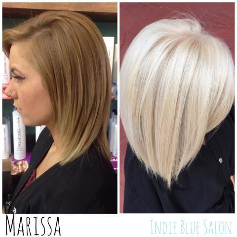 A Beautiful Blonde To A WOW Blonde   Modern Salon