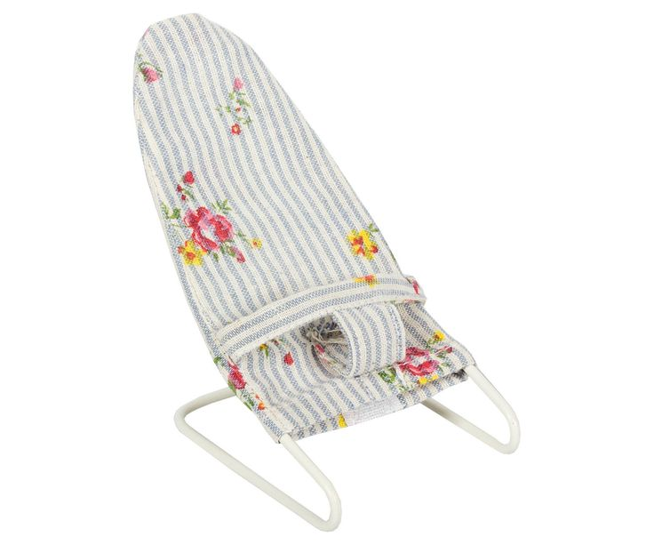 Maileg Micro, Baby Bouncy Chair, Blue