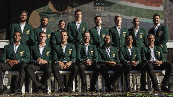 South Africa's 15 for the World Cup