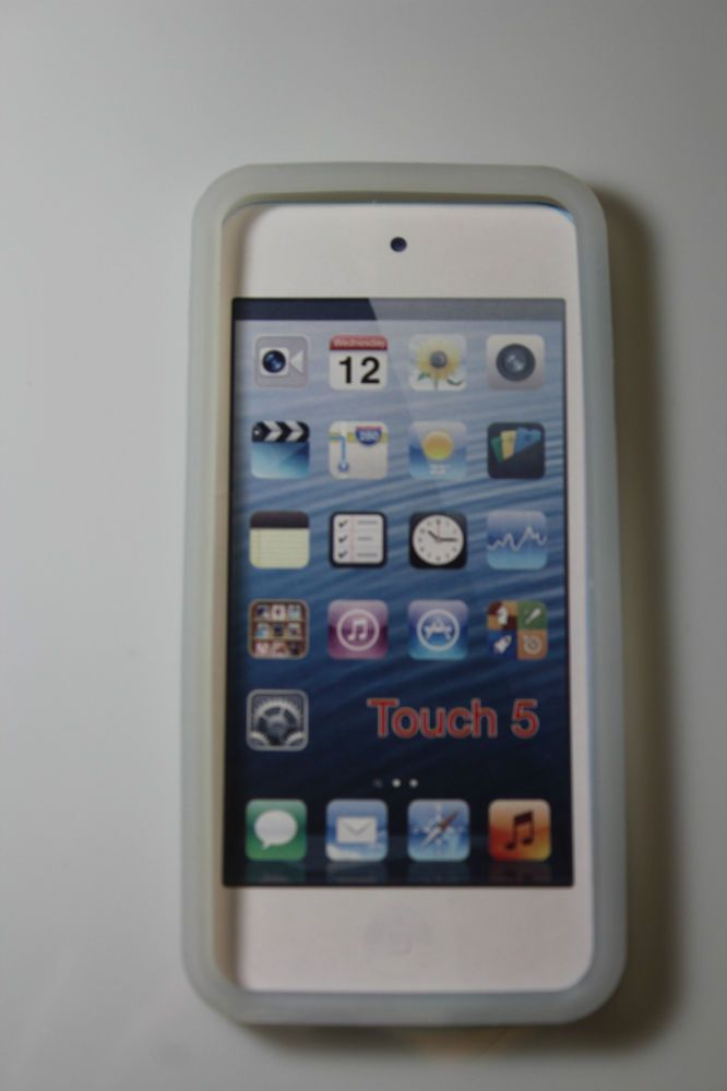 new ipod 5 touch protective silicone cover CLEAR gen 5