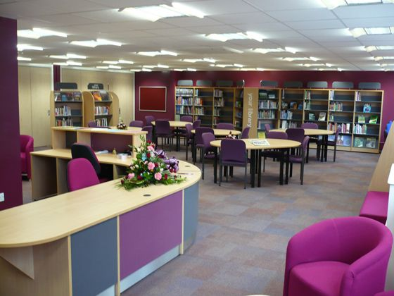Wolgarston High School Library DesignLibrary IdeasHigh