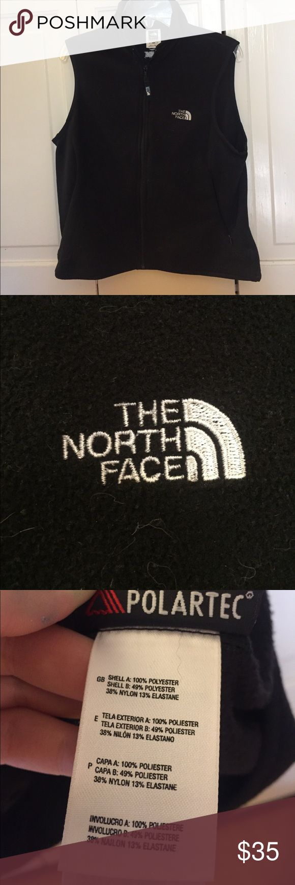 The North Face Flight series black vest Never worn before black The North Face vest. Women's medium. Does attract lint. Great for the fall! New but no tags The North Face Jackets & Coats Vests