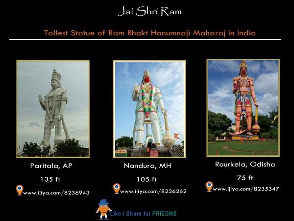 tallest statue of statue of Hanumanji  @ http://ijiya.com/search/hanuman-statue.html
