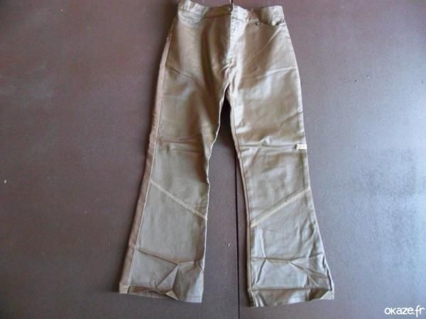 Pantalon Okaidi - Pantalon Okaidi taille réglable