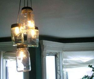 空き瓶を使ったDIY照明 : これが手作り!?目を疑うおしゃれな照明 - NAVER まとめ
