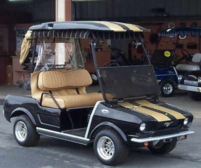 Golf Cart w/Classic Mustang Body Kit~