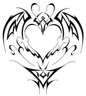Heart Tattoos With Image Heart Tattoo Designs Especially Heart Tribal Tattoo Picture 7