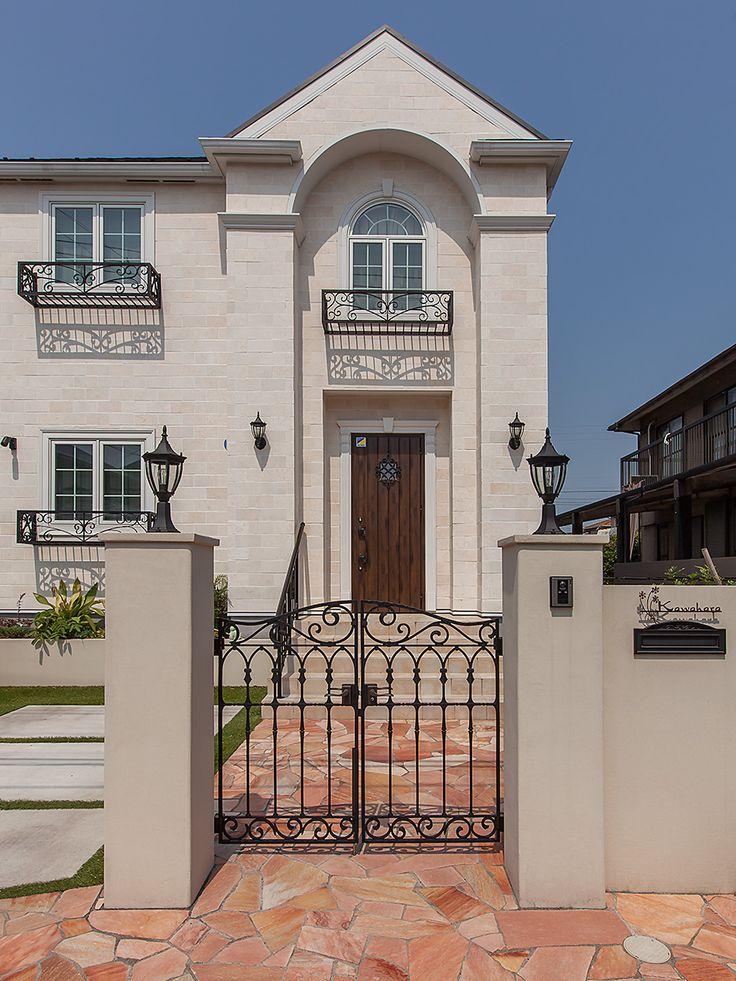 パリ郊外型の輸入住宅 イル・ド・フランス|イル・ド・フランス KR邸|輸入住宅をお探しならトップメゾン | トップメゾン株式会社