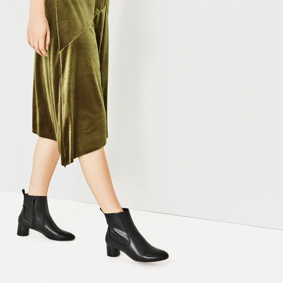 Image 1 of HIGH HEEL POINTED ANKLE BOOTS from Zara