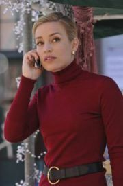 Two of my favs - deep red and a sweater dress!