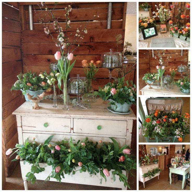 Trentadue Bridal Showcase - www.DragonflyFloral.com - #weddingflowers #dragonflyfloral