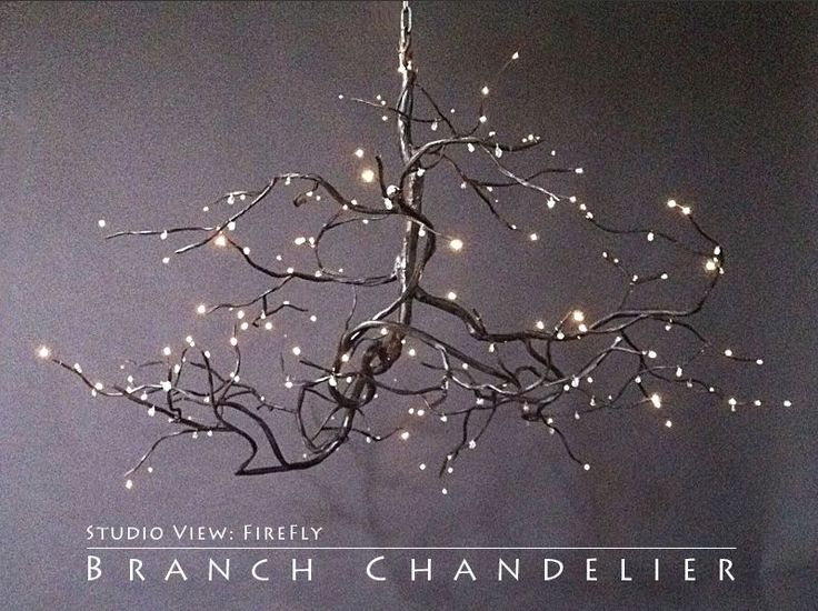 Twig Chandelier Inspired Homes And Chandeliers On Pinterest
