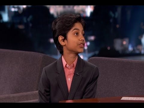 Rohan Chand on Jimmy Kimmel Live PART 2 - YouTube
