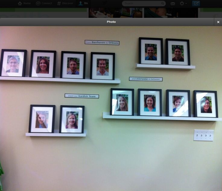 allsops and meet the team board