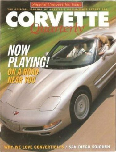 Ivanhoe162 on Ecrater-The Great Ebay Alternative: Fall 1997 Corvette Quarterly Spain Tommy Morrisons...
