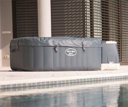 11 best inflatable hot tubs images on pinterest bubble. Black Bedroom Furniture Sets. Home Design Ideas