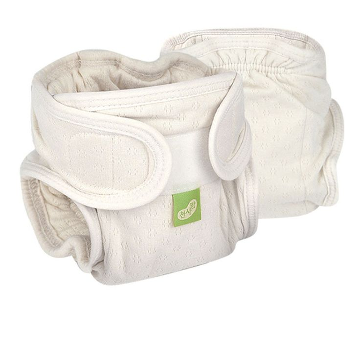 CheonSaMom Organic Cotton Washable Adjustable All-in-one Diapers (fits 12-22Lb)  #SongJiCoLtd