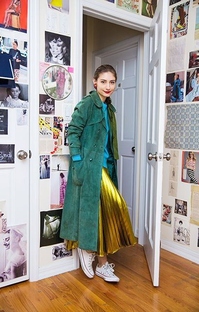 Meet The Street Style Star Who Actually Buys Everything She Wears #refinery29  http://www.refinery29.com/jenny-walton