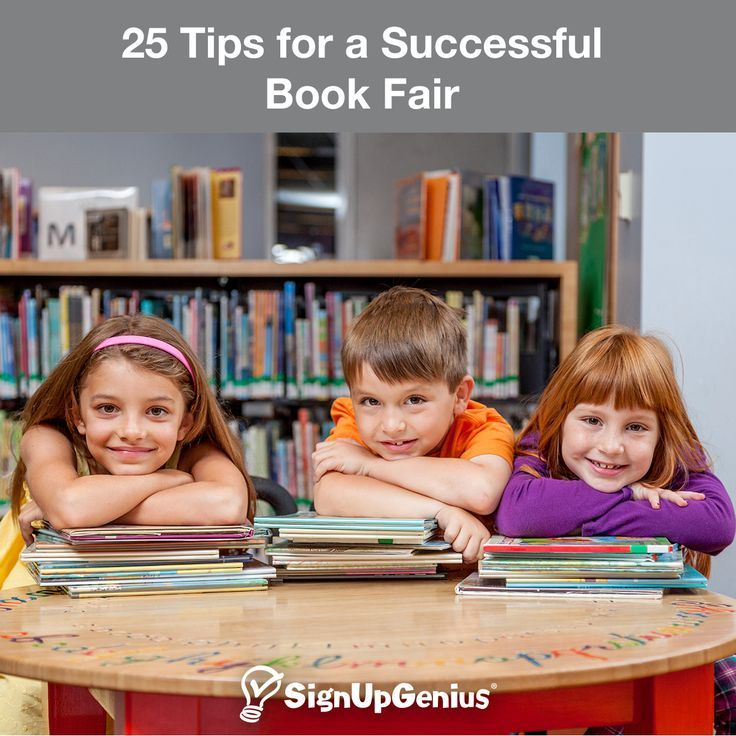 25 Tips for a Successful School Book Fair. Stay organized and help your school or group raise money.