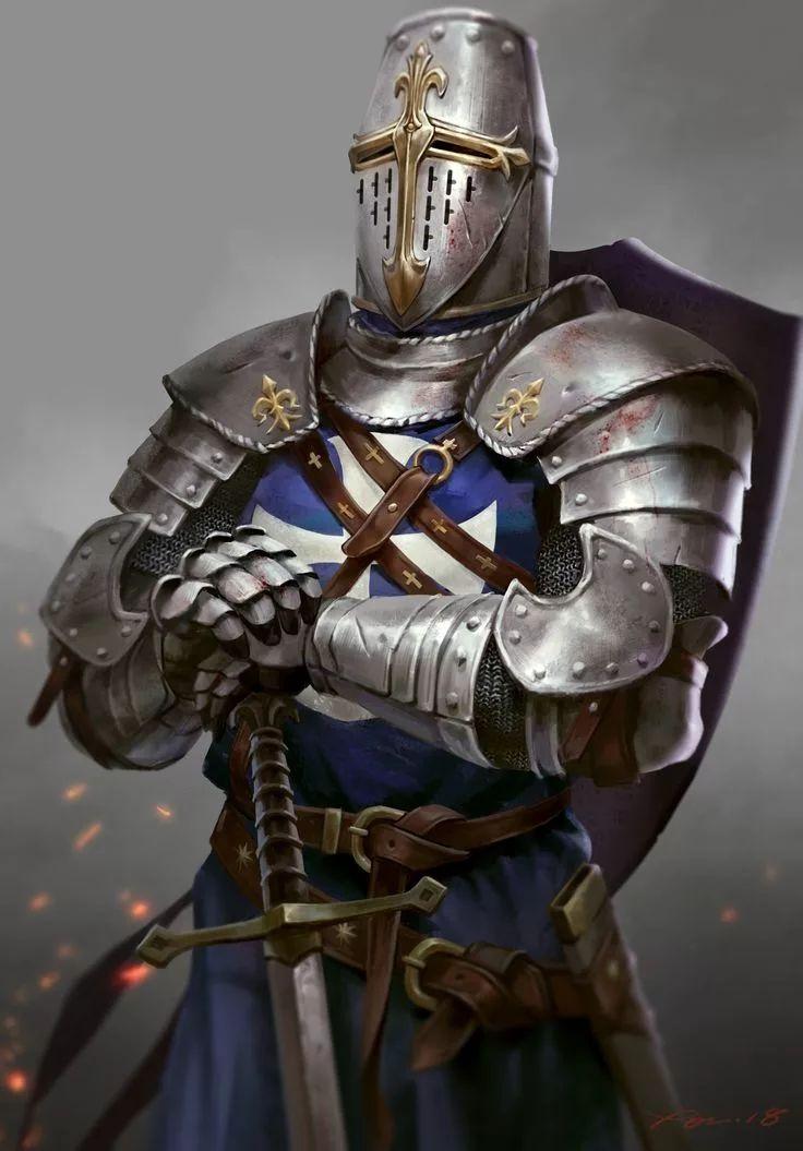 Современный рыцарь картинка