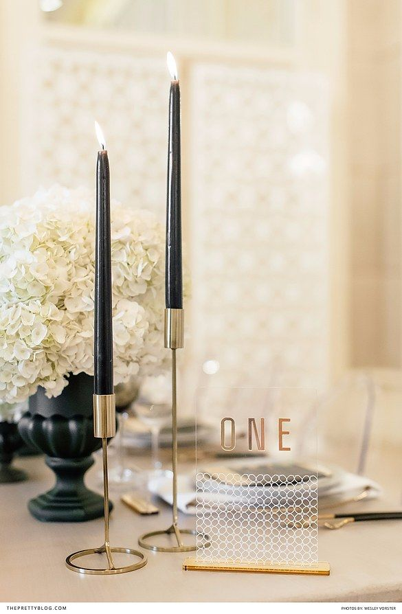 how to make black candles