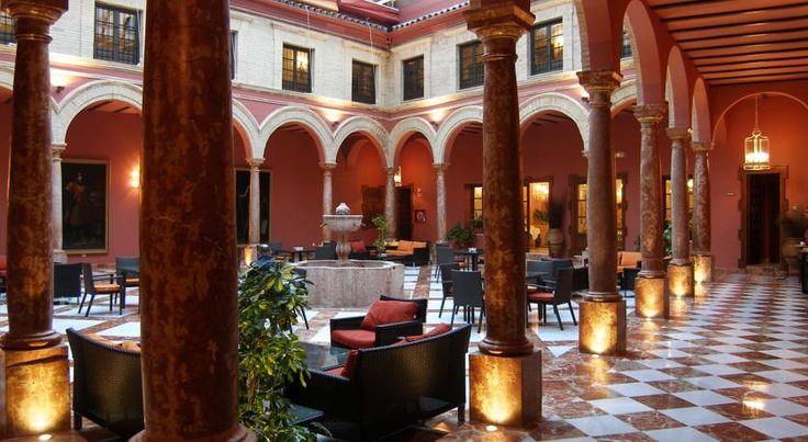Hotel Santo Domingo Lucena Lucena Hotel Santo Domingo Lucena is set in the heart of the historic Andalusian town of Lucena. The building was once a convent, and still has a beautiful 18th-Century cloister.  Bedrooms at the hotel are simple and comfortable.