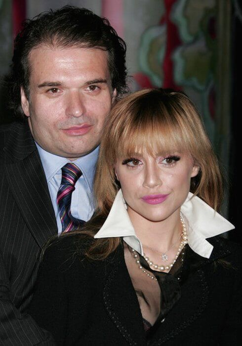 Brittany Murphy and husband Simon Monjack (when alive) attended the Prada Los Angeles screening of 'Trembled Blossoms' at Prada on March 19, 2008....
